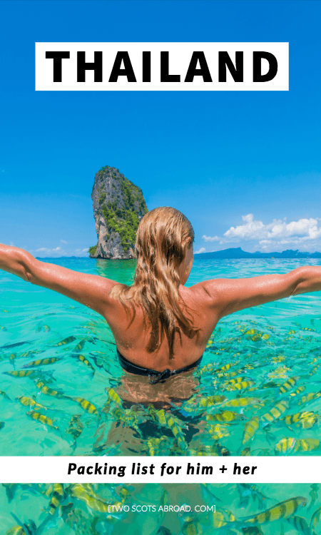 What to wear in Thailand: Thailand packing list. Thailand packing list for your first trip, Thailand travel tips, best clothes to pack for Thailand, what to bring to Thailand for women and men, packing tips for Thailand, best things to wear in Thailand, how to dress in Thailand, Thailand packing tips