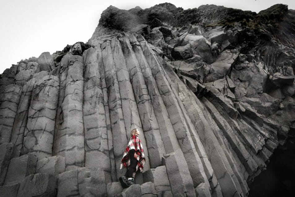 GA Reynisfjara Icelands Black Stack