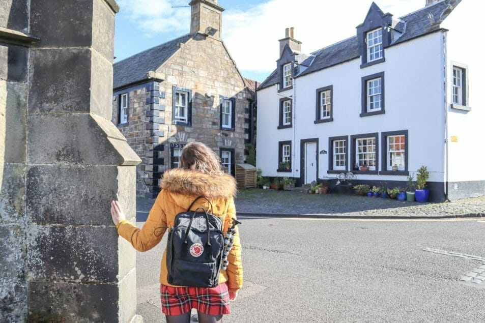 Mrs Baird B&B Jamie Outlander Falkland Scotland_