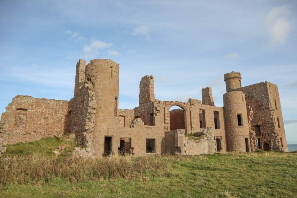 Slains Castle Cruden Bay Scotland