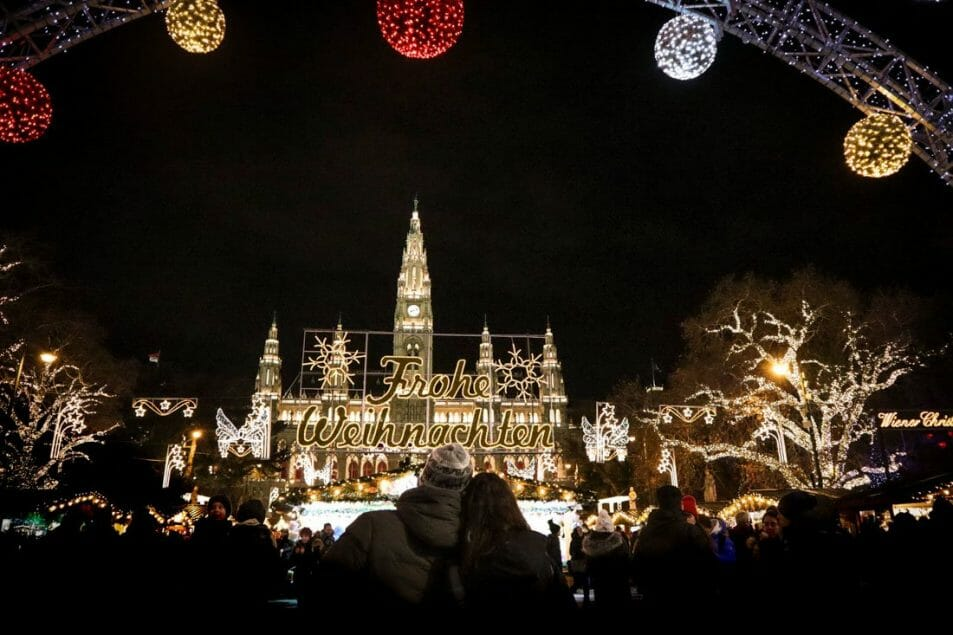 Christmas Markets Vienna Austria