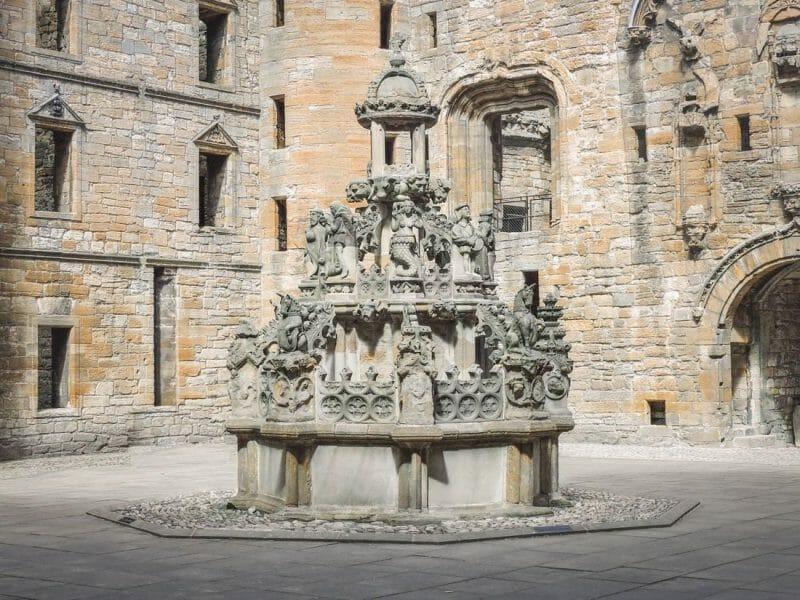 Linlithgow Palace Scotland Outlaw King Set Bruce Castle Chapel
