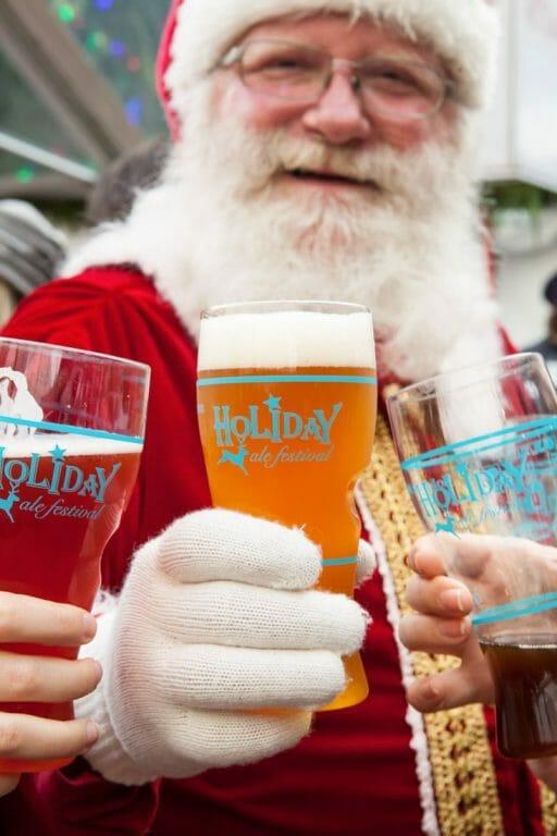 Santa Winter Ale Festival Portland Oregon