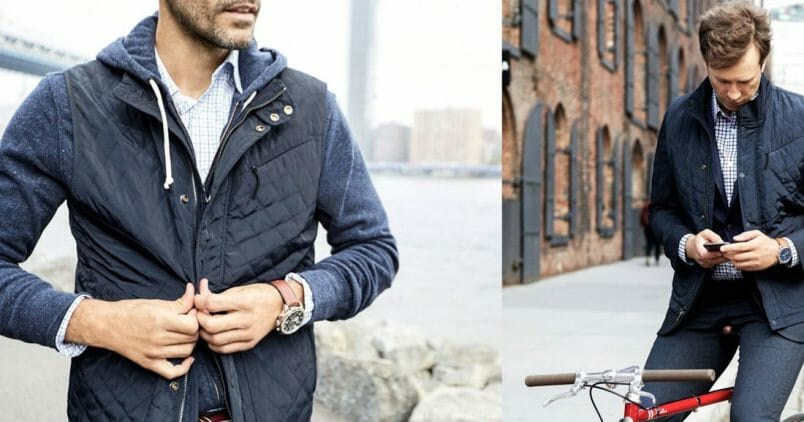 Bluffworks Travel Vest with Pockets