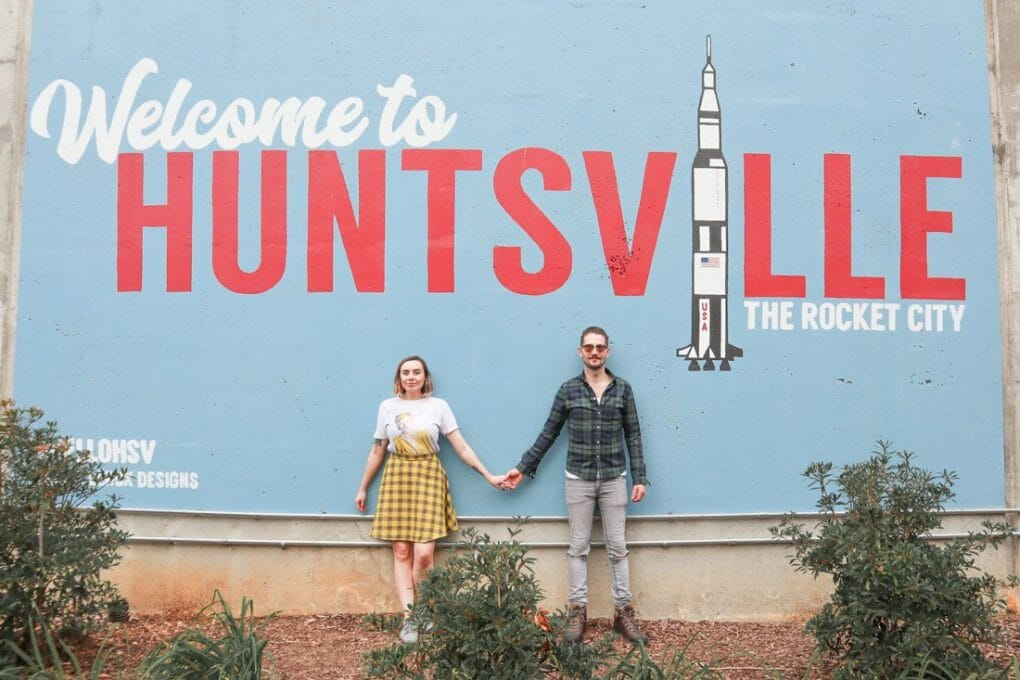 Welcome to Huntsville Sign