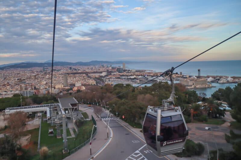 Barcelona Teleferic de Montjuic