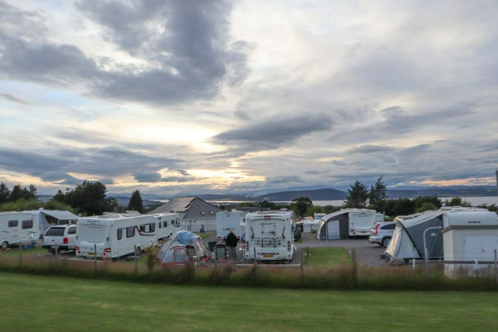 Ardtower Campsite Inverness Scotland_