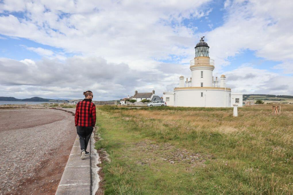 Chanonry Point Lighthouse Craig Scottish Highland NC500