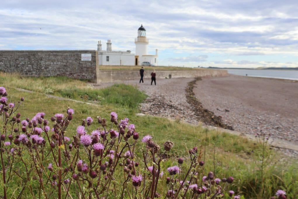 Chanonry Point Lighthouse Scottish Highland NC500