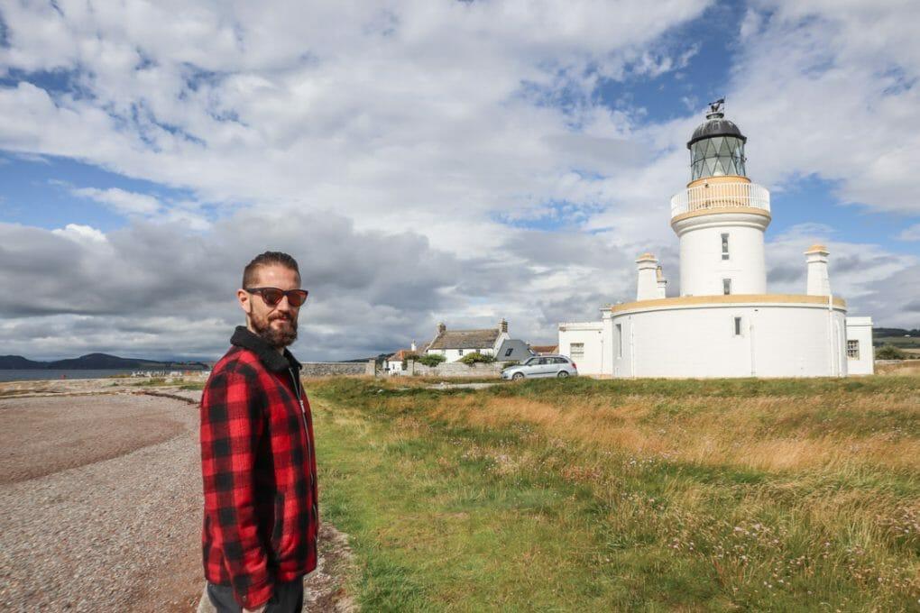 Chanonry Point Lighthouse and Craig Scottish Highland NC500