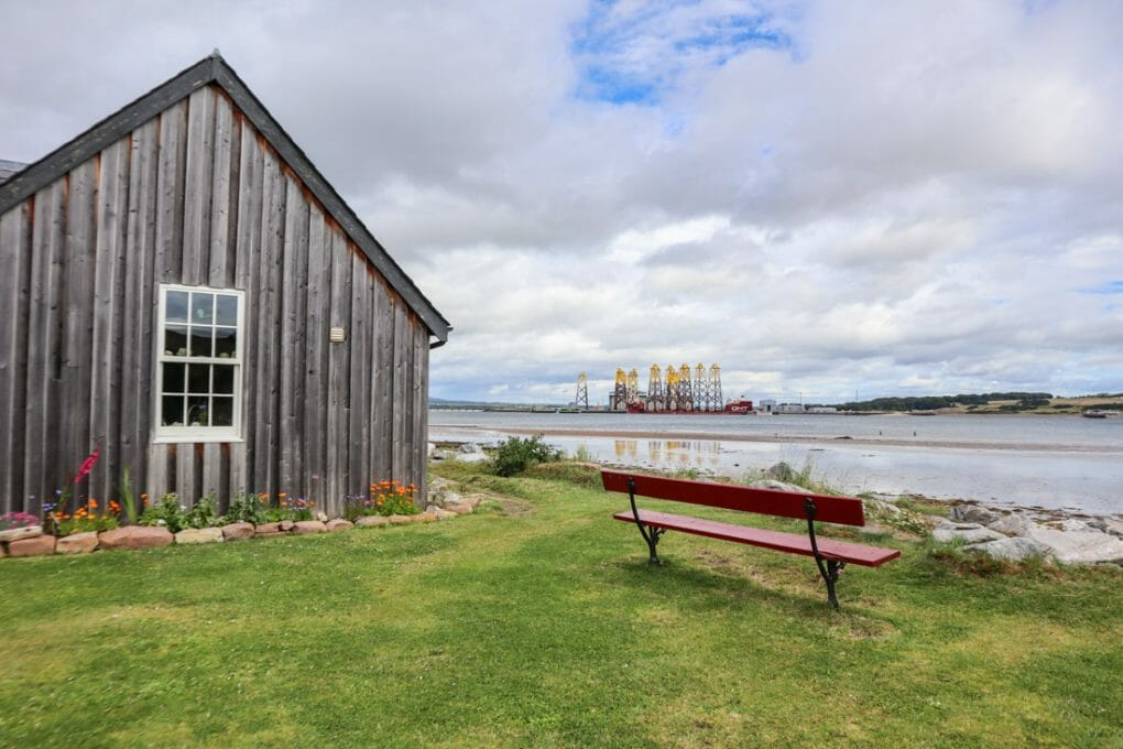 Cromarty Oil Rigs North Coast 500 in Scotland_