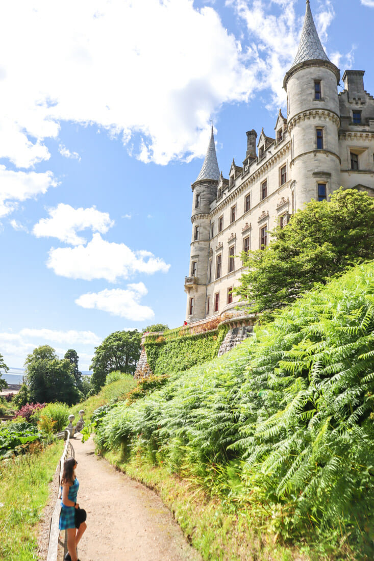Dunrobin Castle Gemma North Coast 500 Scotland_