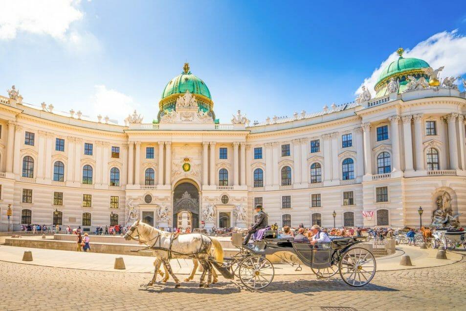 Hostels in Vienna Wien, Alte Hofburg, Vienna, Austria.jpg