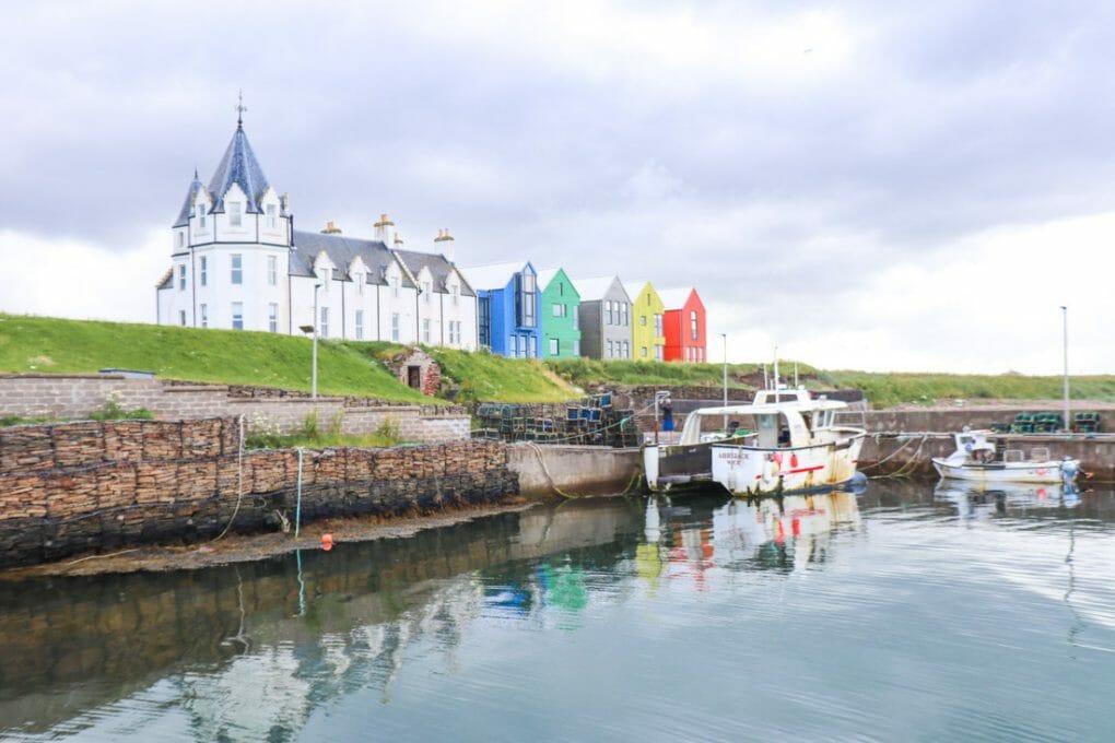 John o Groats Boats Houses North Coast 500 Scotland_