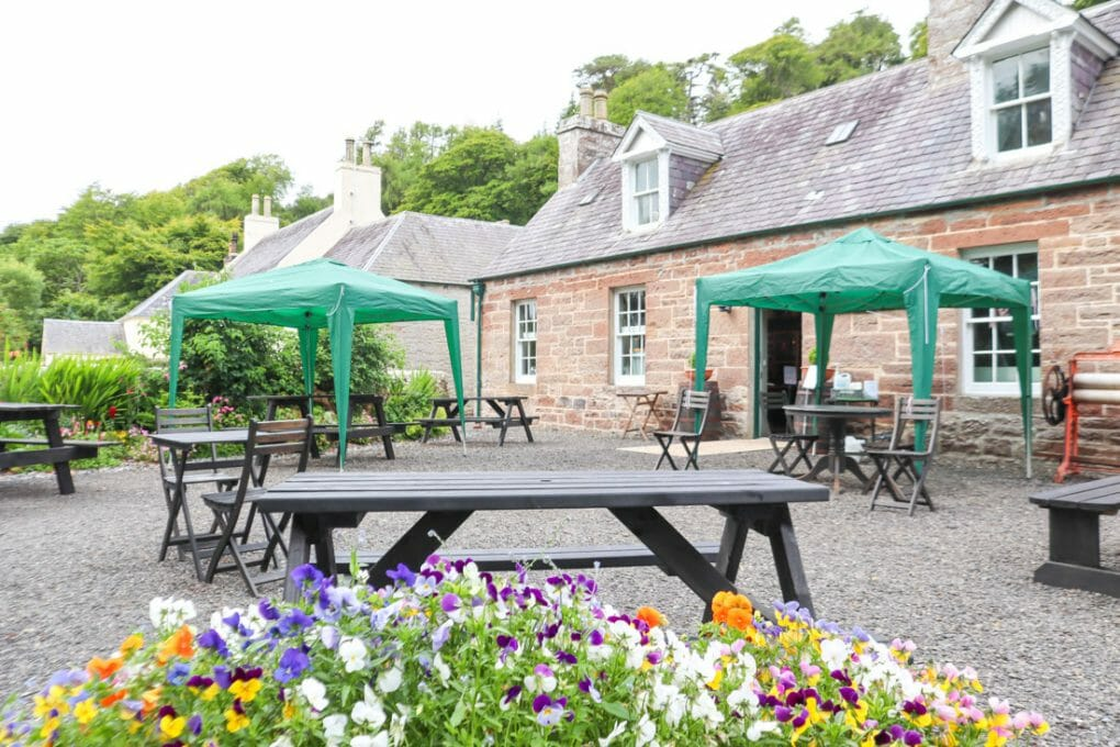 River Bothy Cafe Berriedale North Coast 500 Scotland_