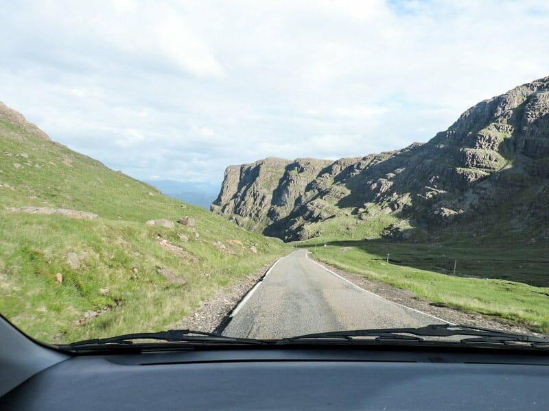 Bealach na Bar Road North Coast 500 Scotland