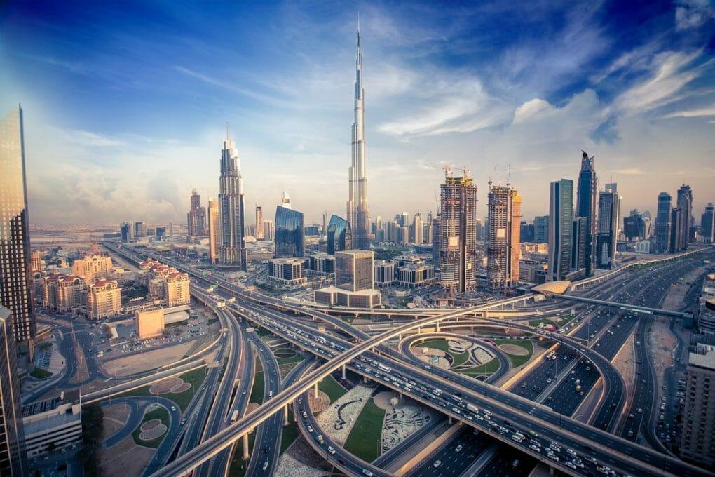 Burj Khalifa Dubai Skyline