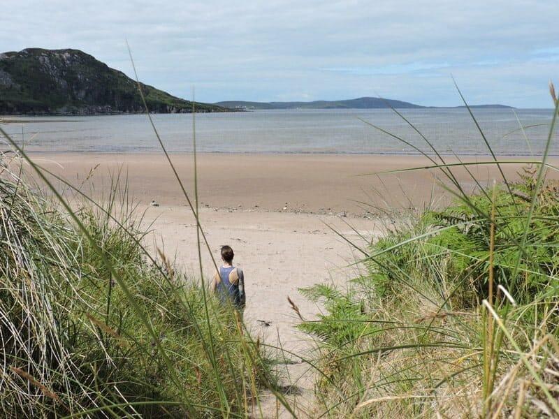 Gruinard Bay, Scotland, Craig, sand, sea North Coast 500 NC 500