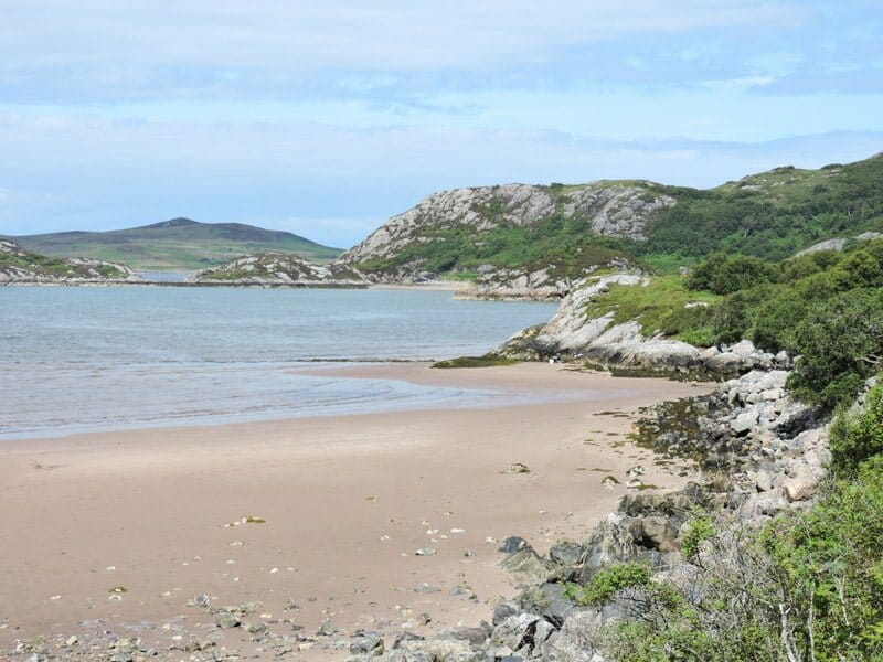 Gruinard Bay, Scotland, sand, sea North Coast 500 NC 500