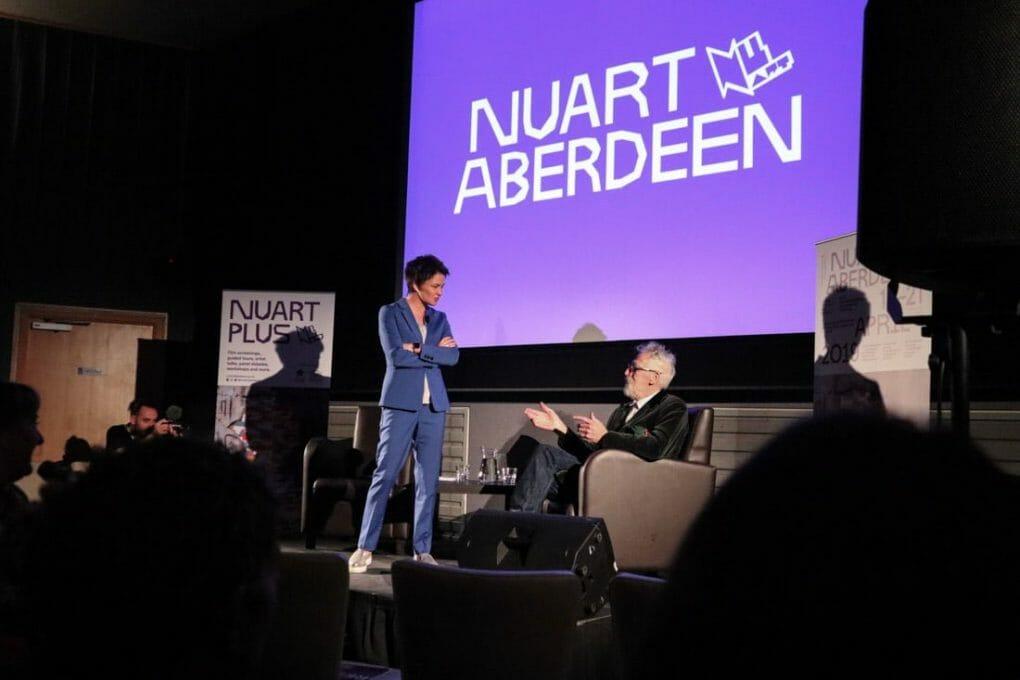 John Byrne at Nuart Aberdeen Belmont Cinema
