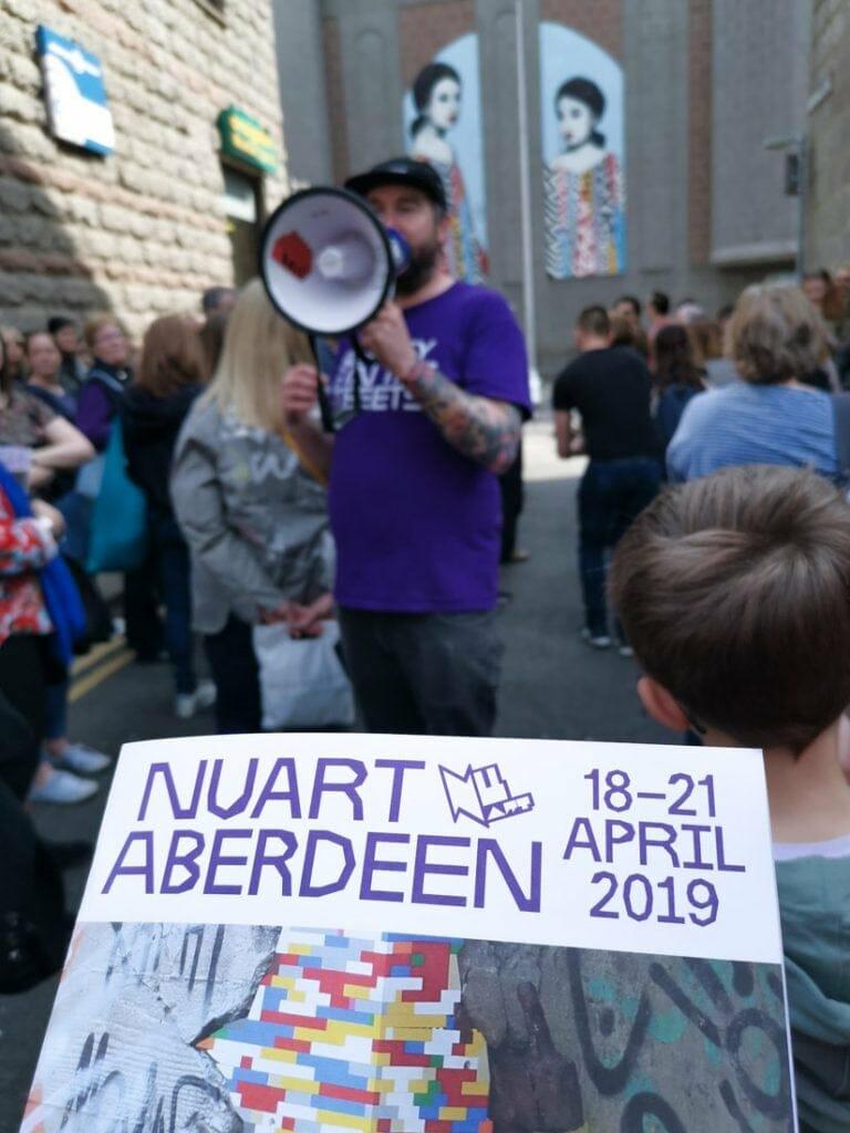 Nuart Art free tours in Aberdeen_