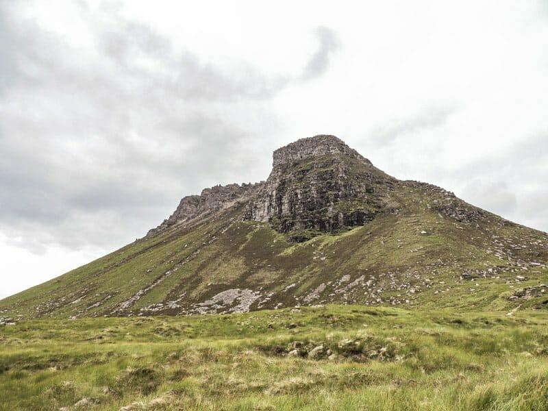 Stac Pollaidh hill, Ullapool Scotland