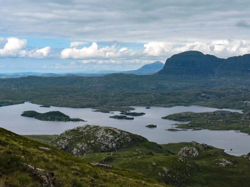 Stac Pollaidh views Scotland