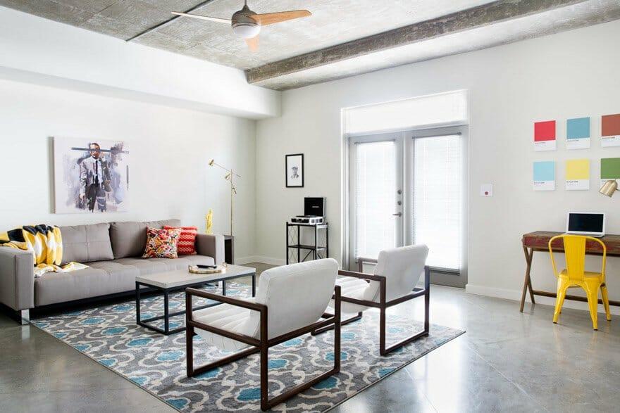 The Guild livingroom Austin