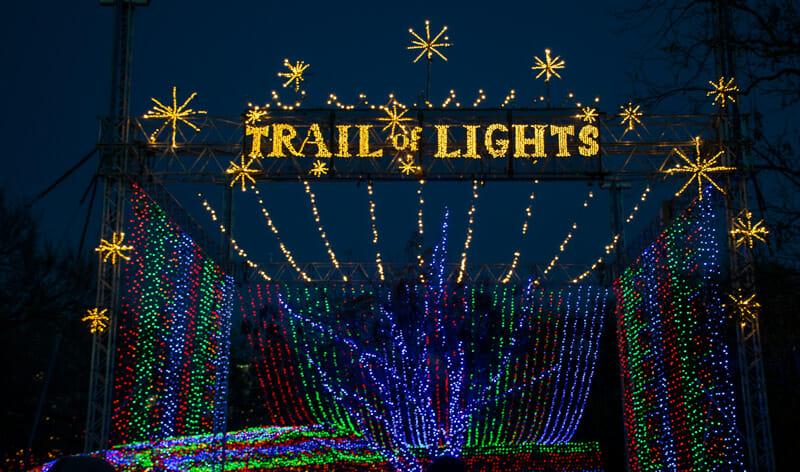 Austin Christmas Trail of Lights Zilker Park