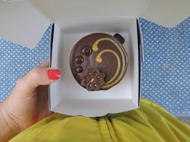 Cake from Granville Island Market_