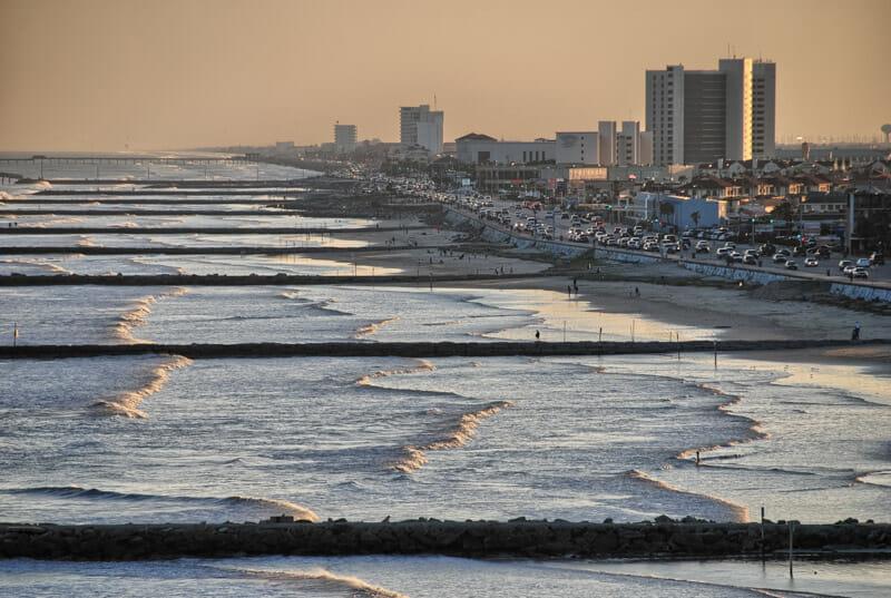 Galveston Beach Texas beaches