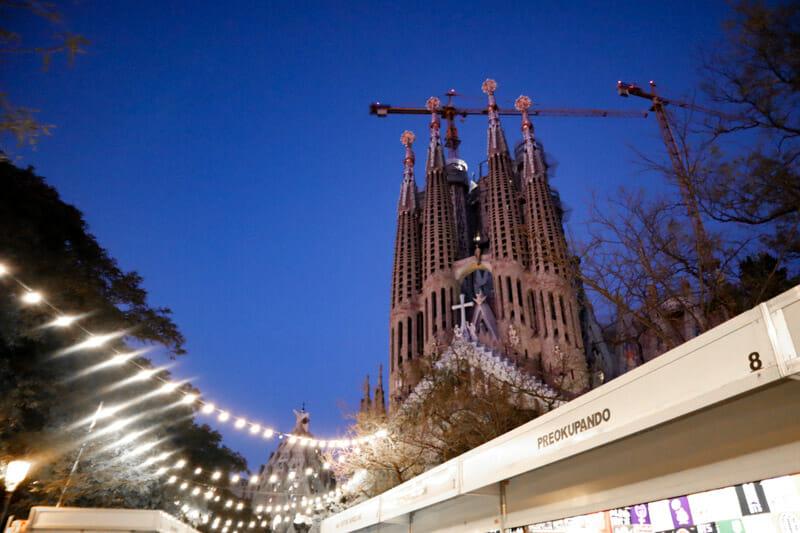 La Sagrada Familia Christmas Market_
