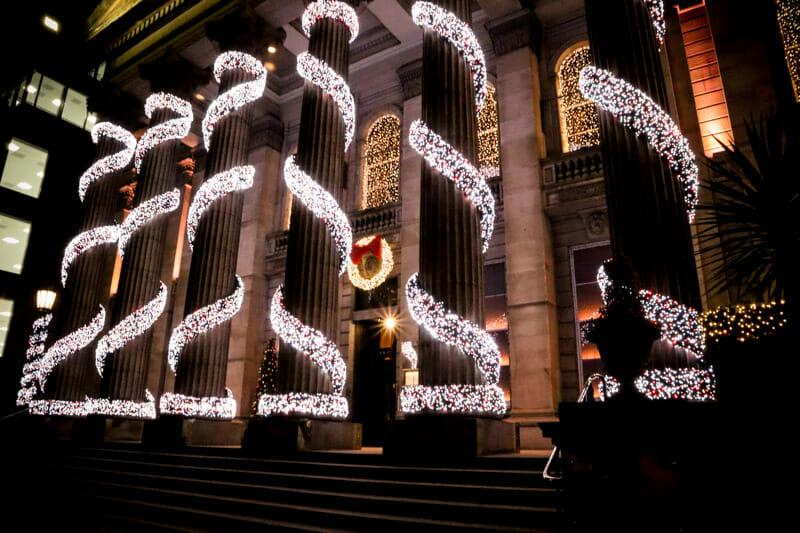The Dome Edinburgh At Christmas_
