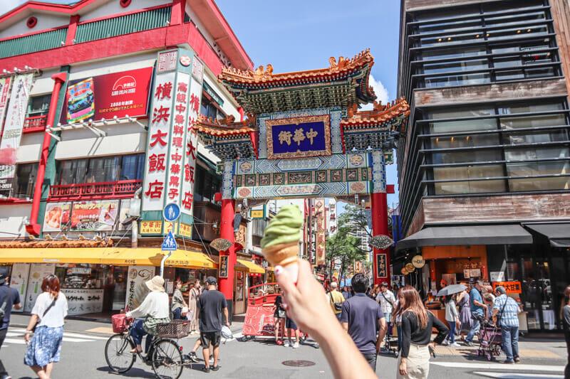 Chinatown Yokohama Ice cream