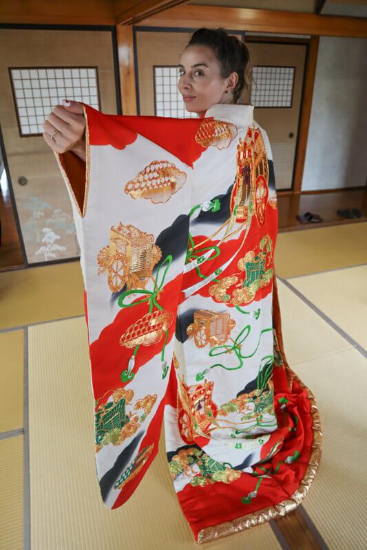 Gemma Kimono Seto House Wakkanai_