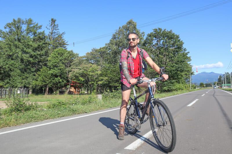 Kamikawa Bike Ride Hokkaido_