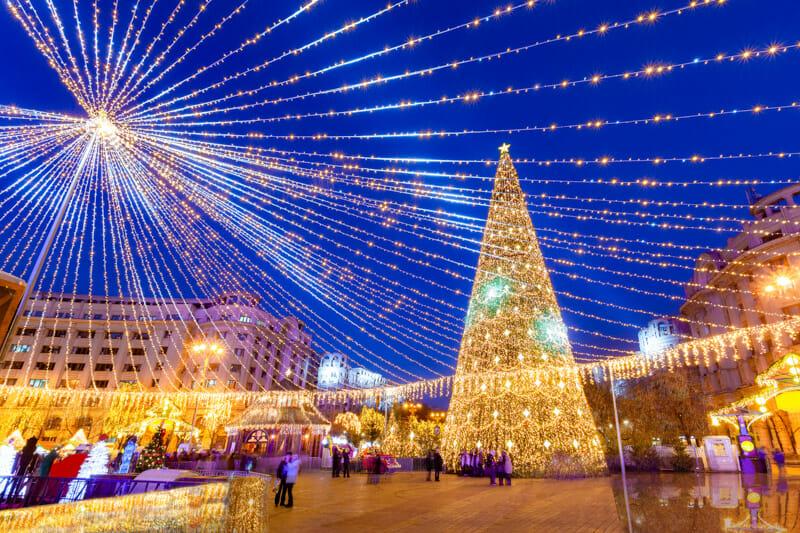 Piatti Revolution Bucharest at Christmas