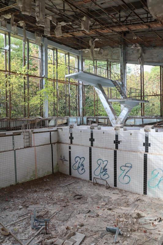 Azure Swimming Pool Chernobyl Kiev