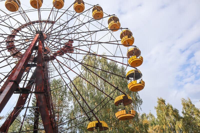 Chernobyl Ferris Wheel Pripyat_