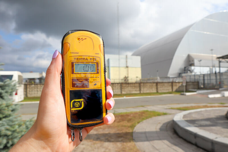 Chernobyl Power Plant Geiger Counter