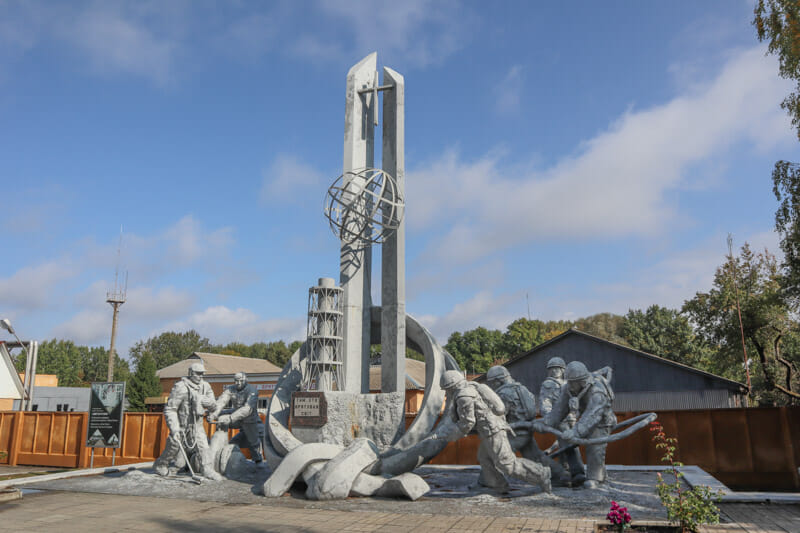 Fire Fighters Memorial Chernobyl_