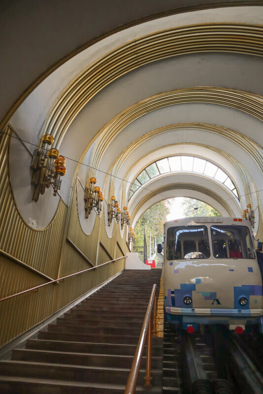 Funicular in Kiev