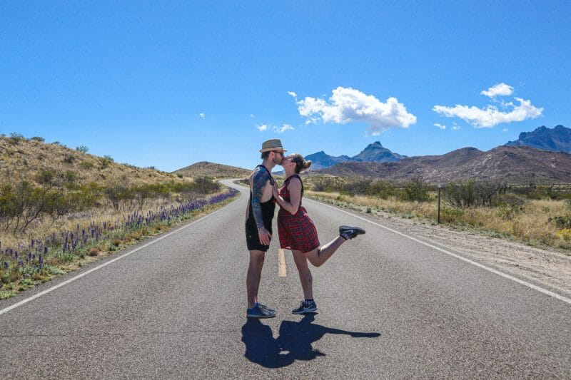 Gemma and Craig Two Scots Abroad Travel Guides Big Bend National Park Texas