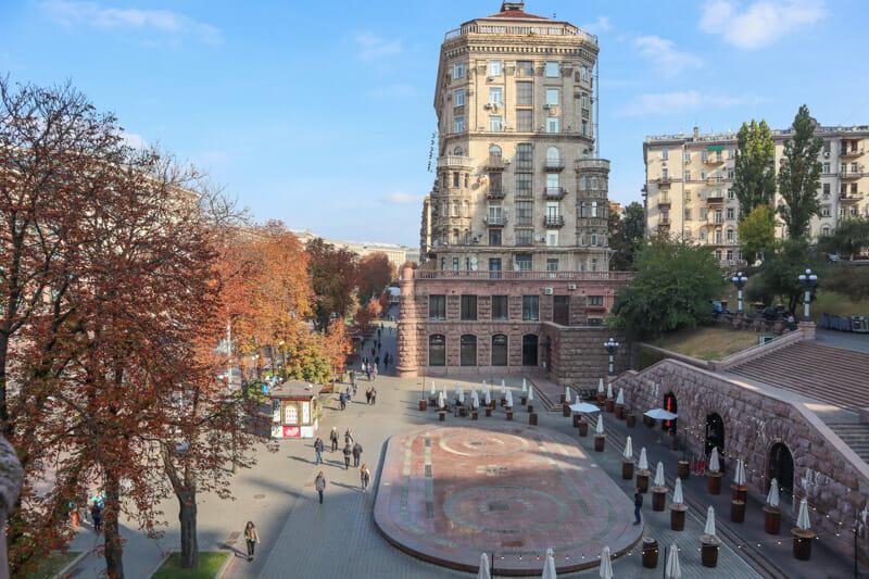 Khreschatyk Street Kiev