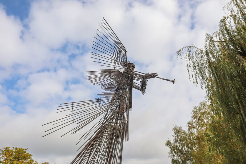 Monument of the Third Angel Chernobyl_