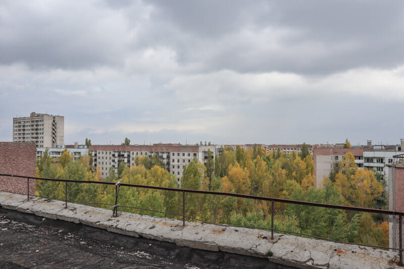 Pripyat Apartments Rooftop