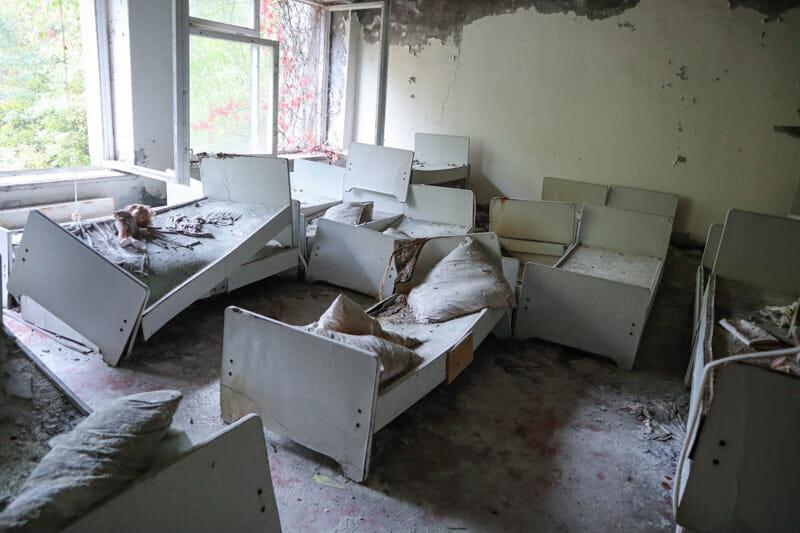Pripyat Kindergarten Rooms