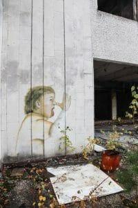 Pripyat Street Art Baby