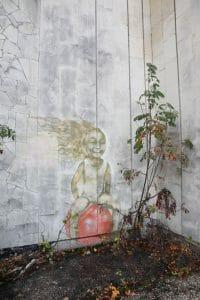 Pripyat Street Art Mural Girl