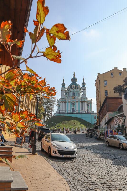 St Andrews Chruch Kiev